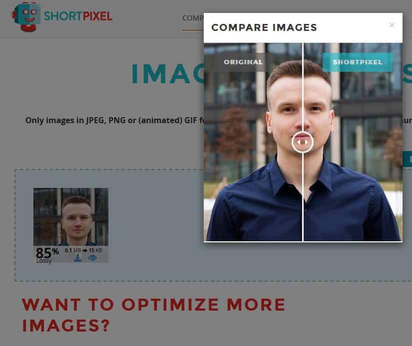 optymalizacja obrazków shortpixel