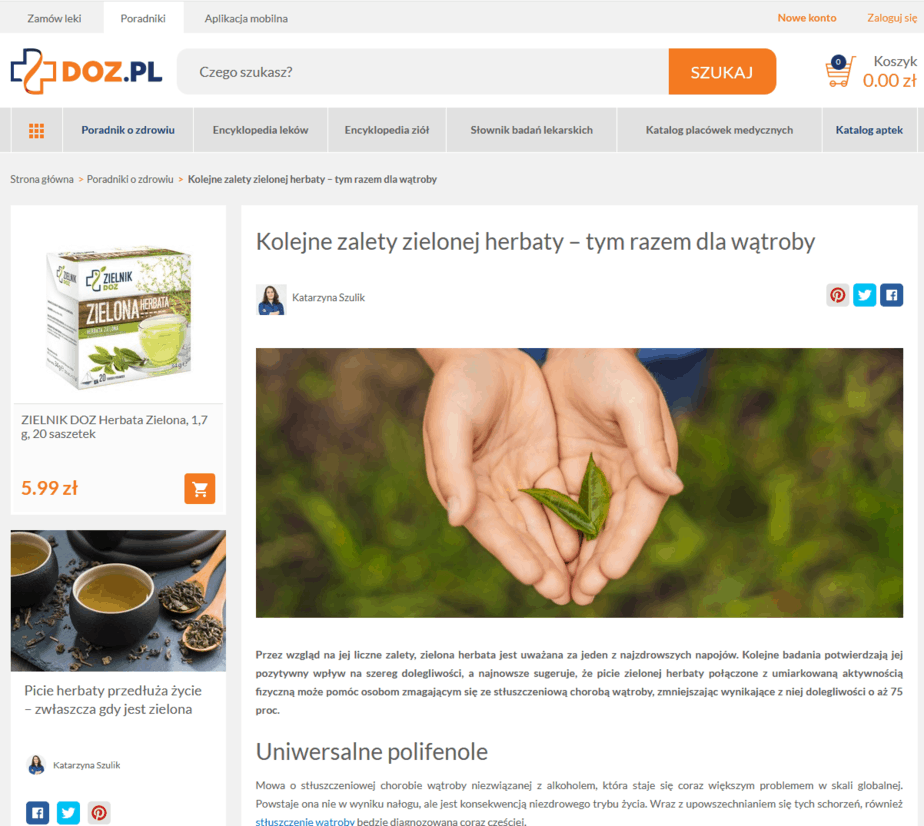 doz.pl content marketing