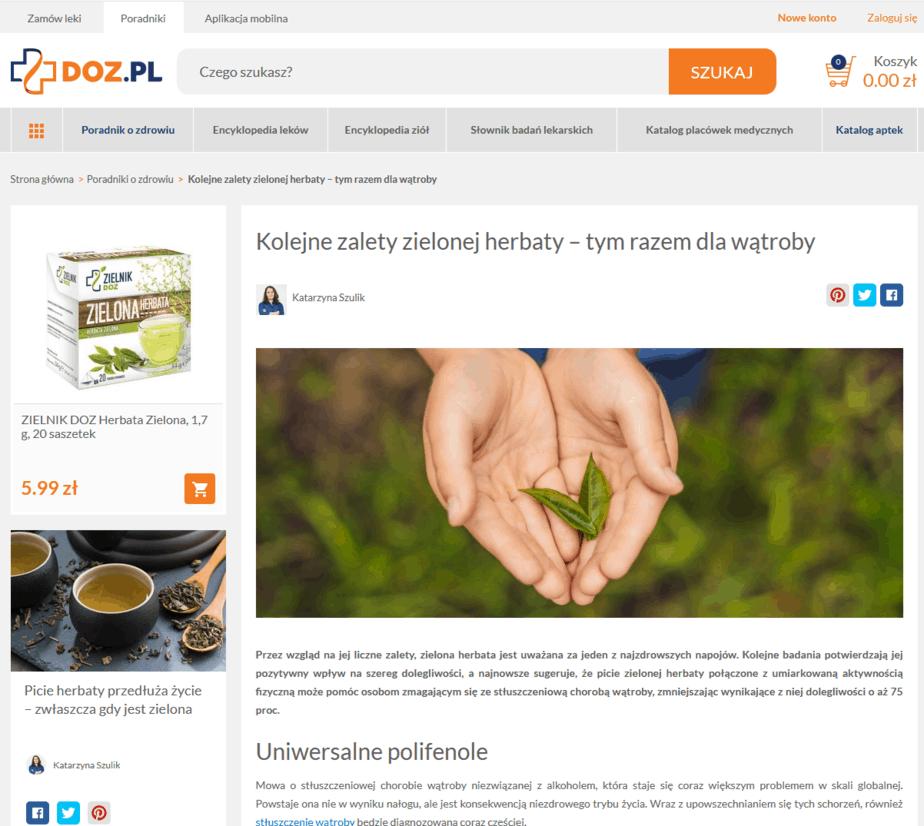 doz.pl content marketing