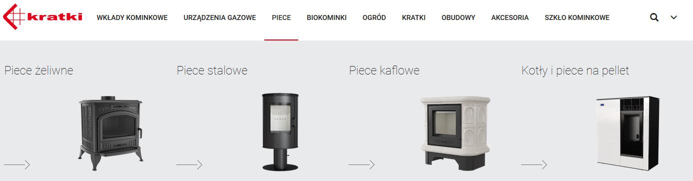 grupy produktów kratki.pl