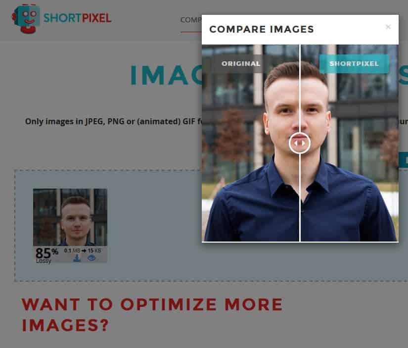 Optymalizacja obrazków w ShortPixel